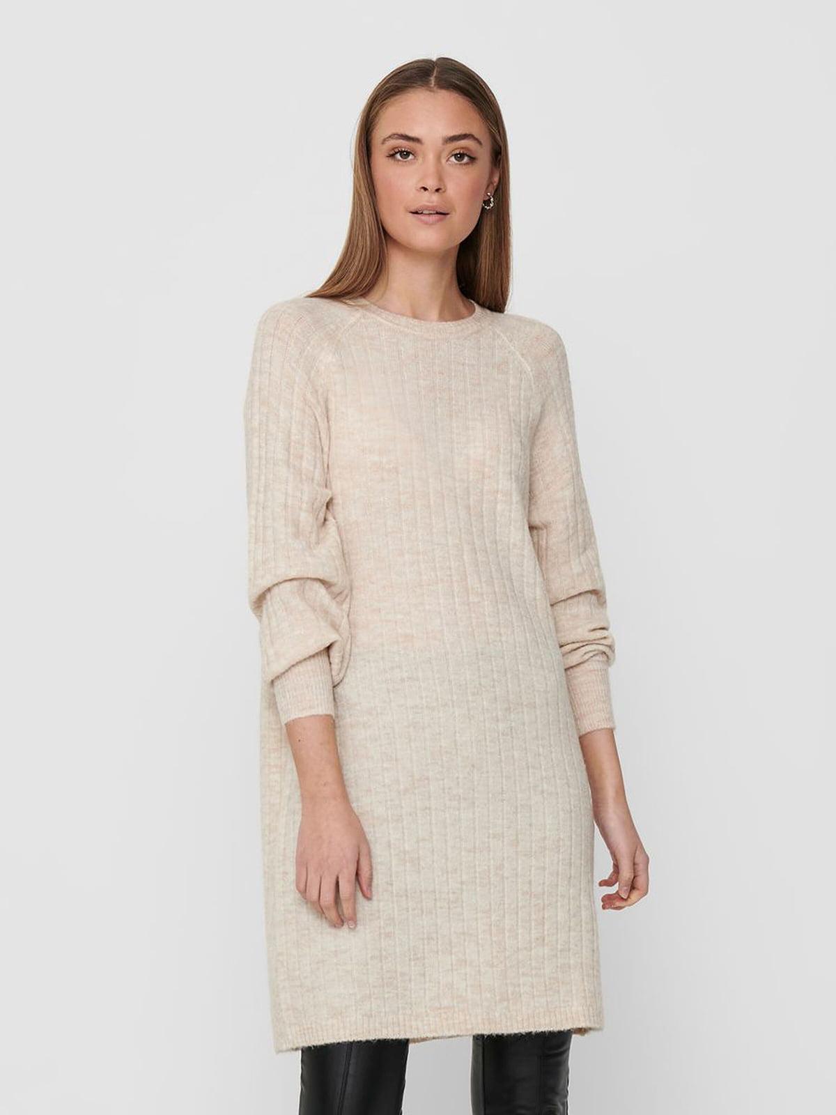 Платье бежевое | 5635623