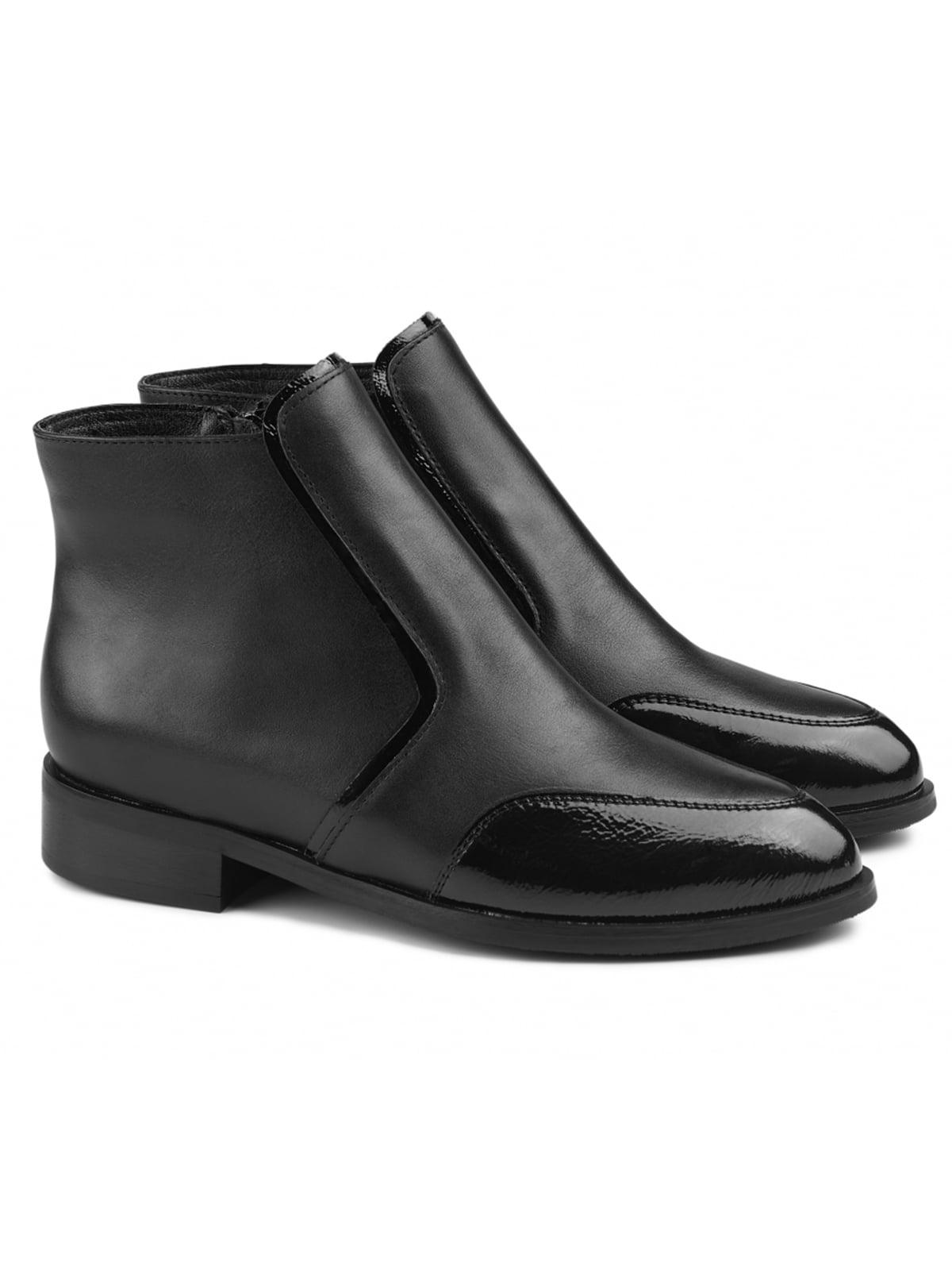 Ботинки черные   5635944