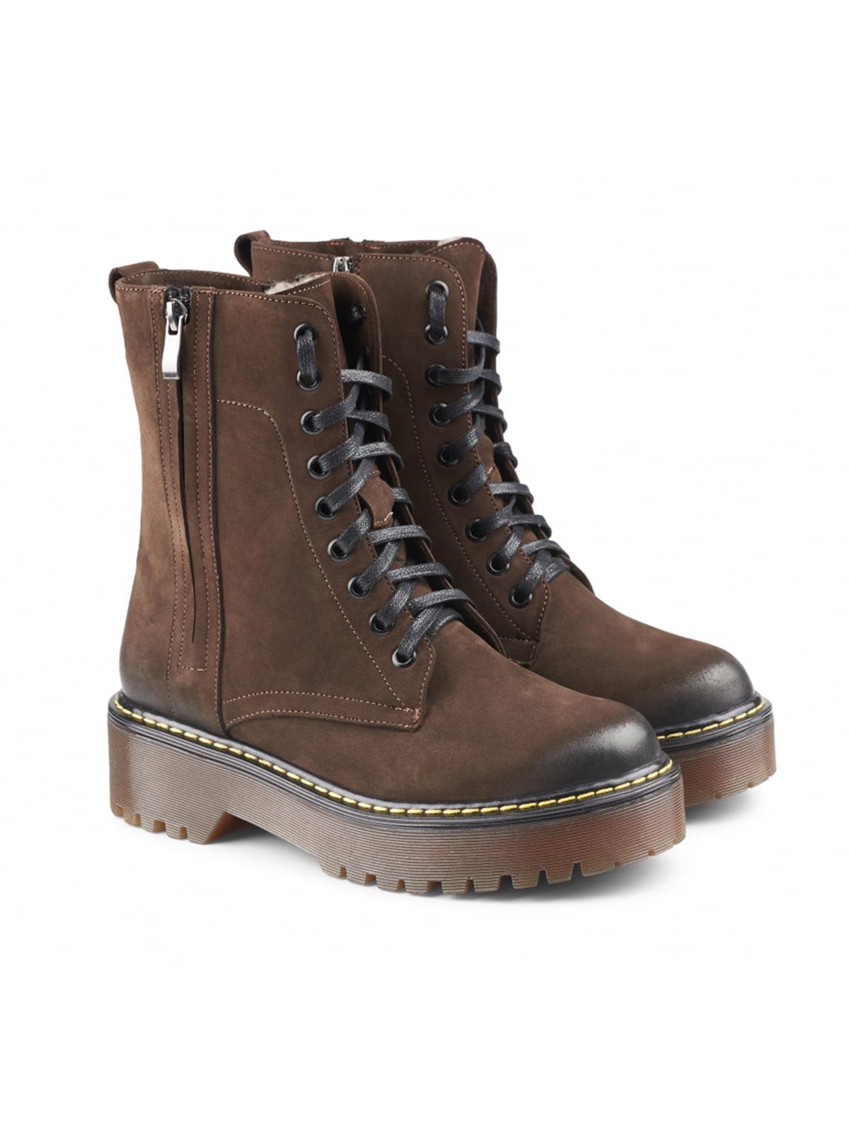 Черевики коричневі | 5635957