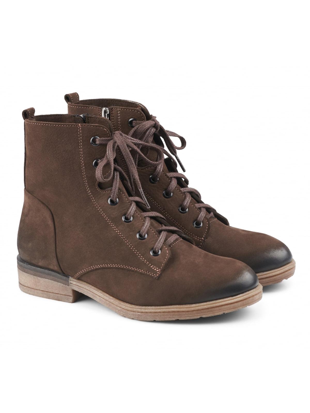 Черевики коричневі | 5635959
