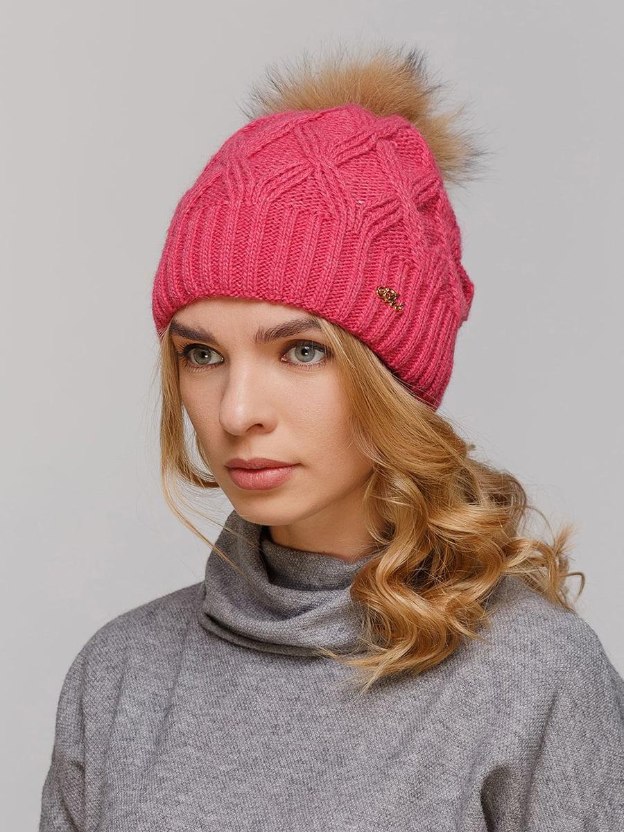 Шапка рожева   5640181