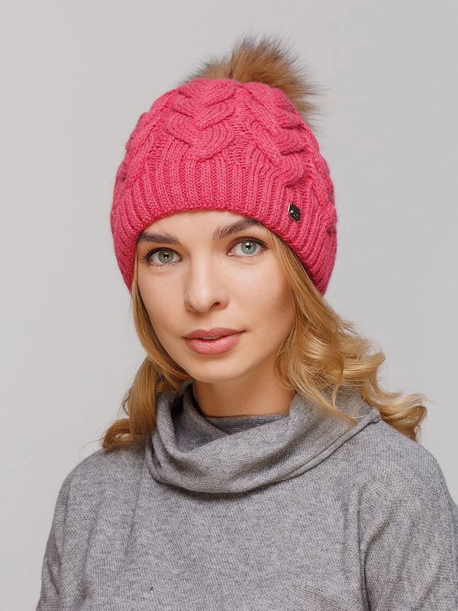 Шапка рожева | 5640232