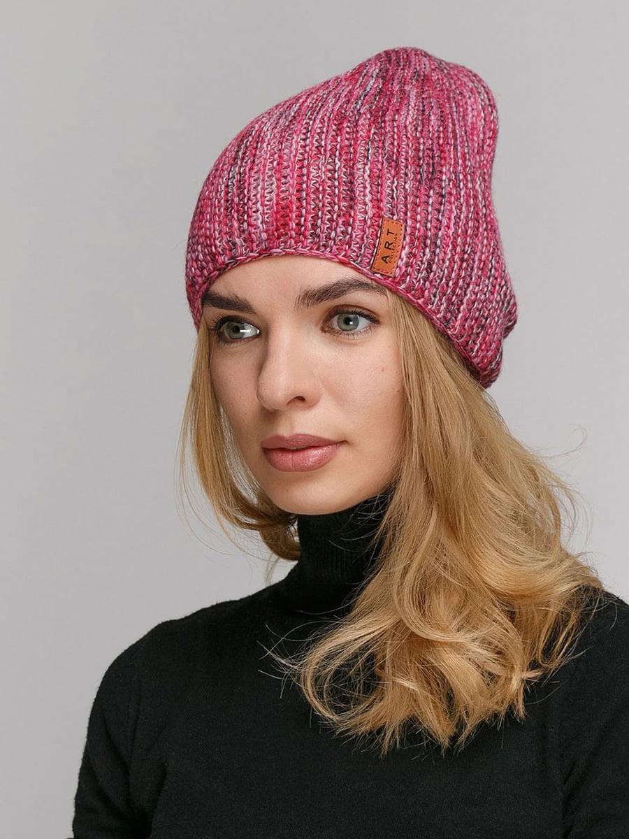 Шапка розовая   5640381