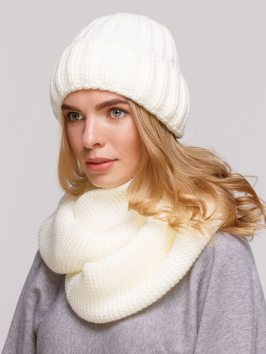 Комплект: шапка и шарф-снуд | 5640405