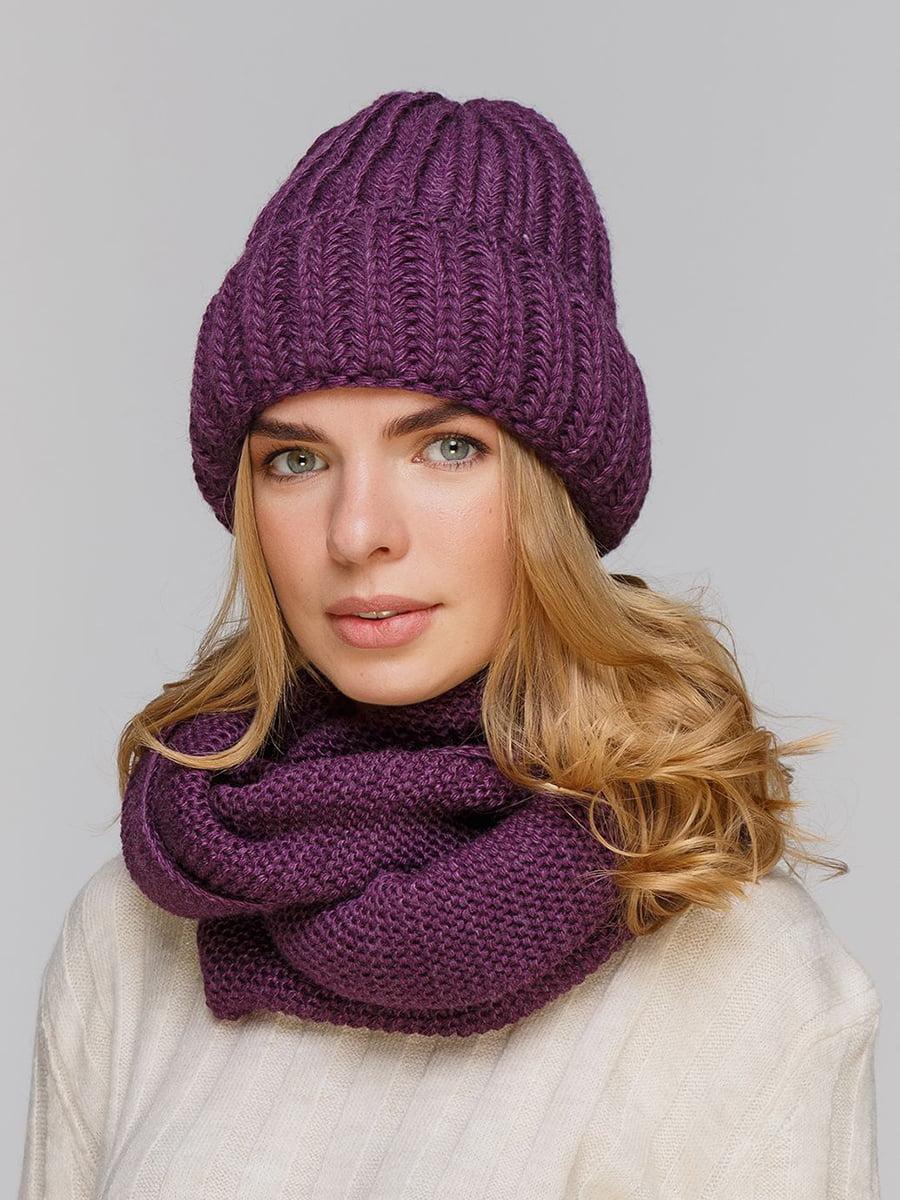 Комплект: шапка и шарф-снуд | 5640407