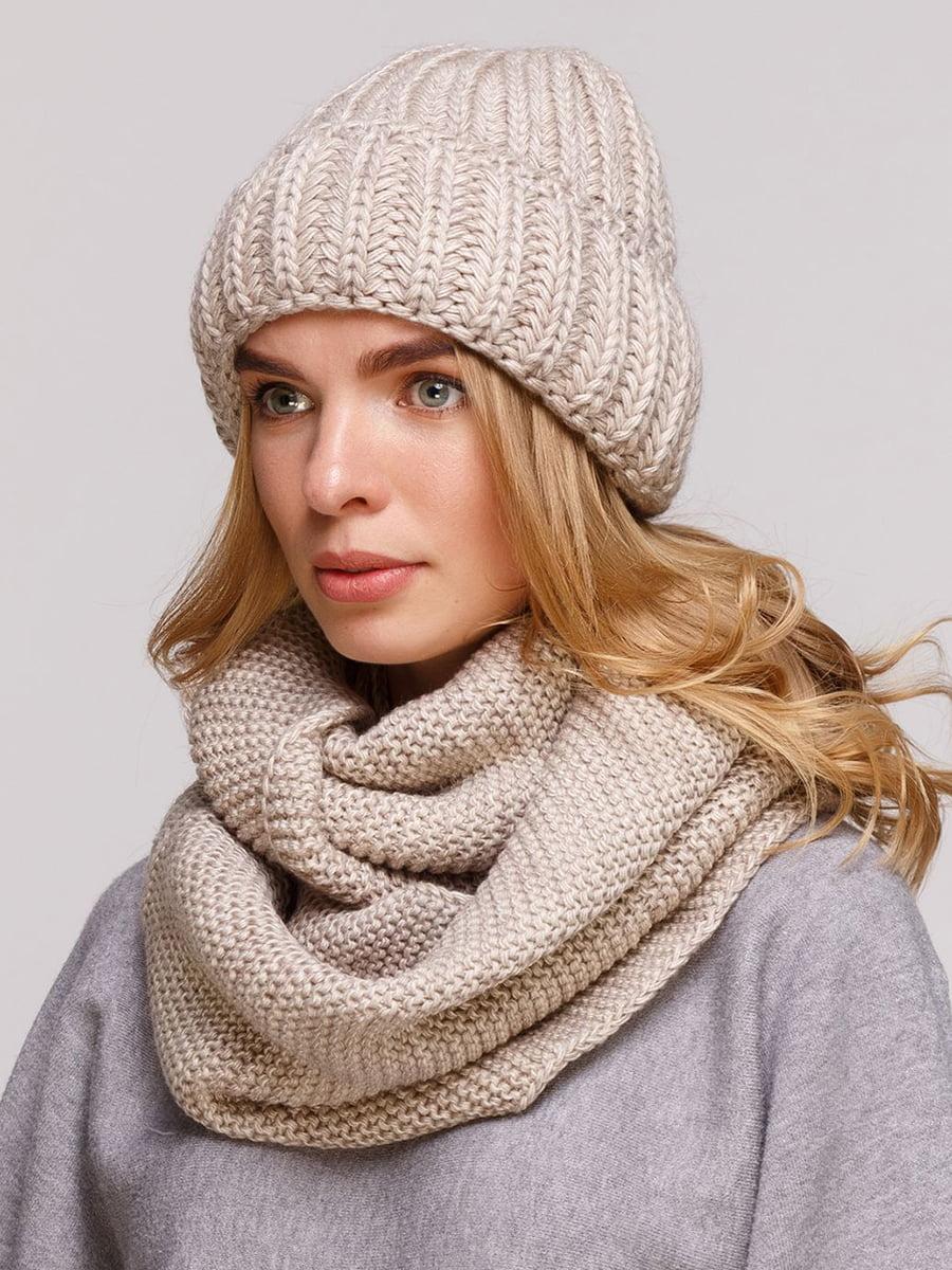 Комплект: шапка и шарф-снуд   5640408