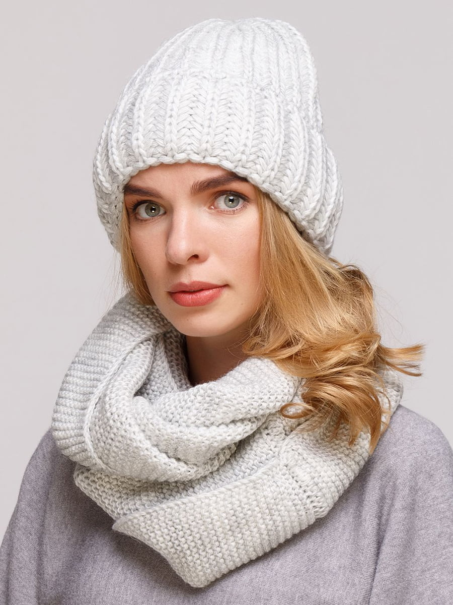 Комплект: шапка и шарф-снуд | 5640409