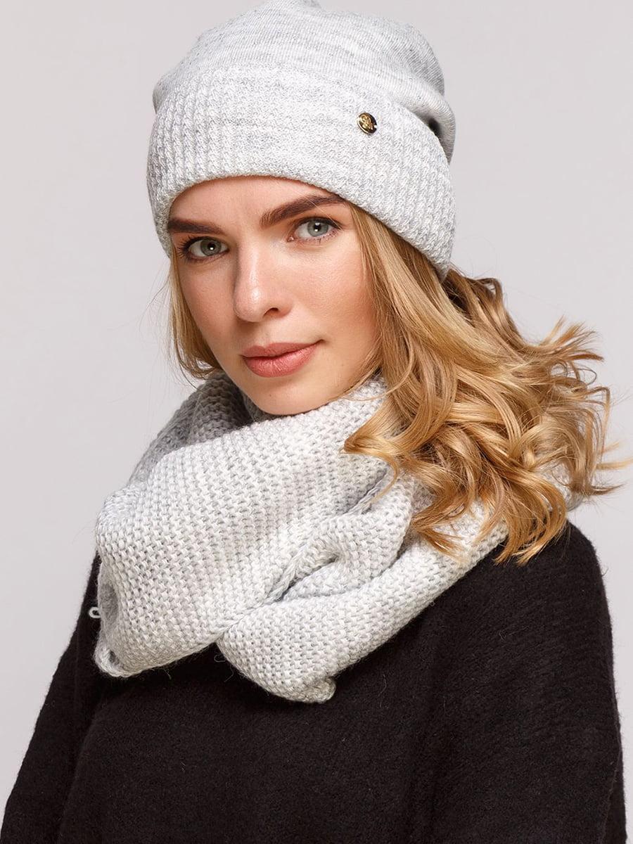 Комплект: шапка и шарф-снуд | 5640421