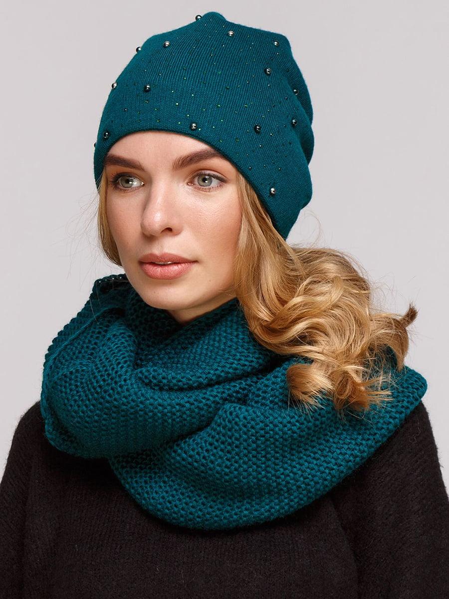 Комплект: шапка и шарф-снуд | 5640422