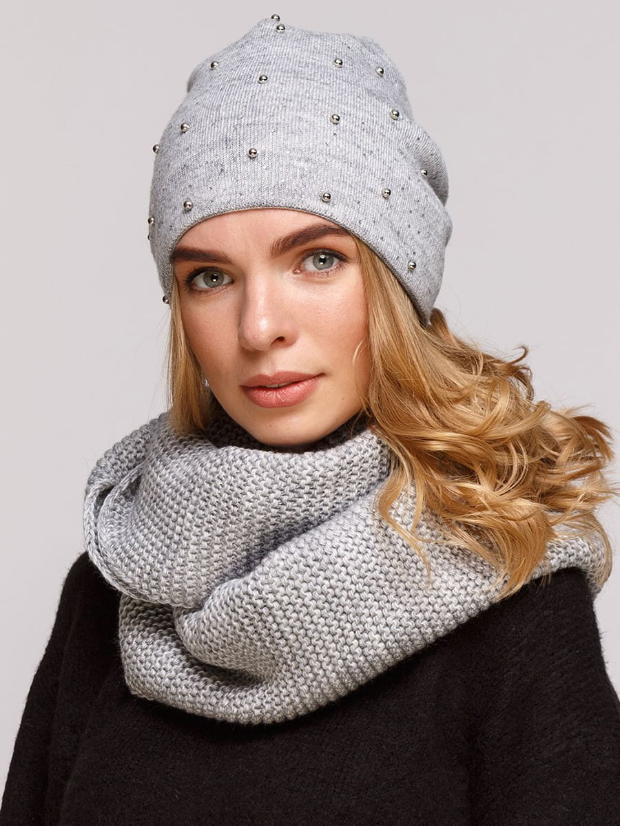 Комплект: шапка і шарф-снуд   5640425
