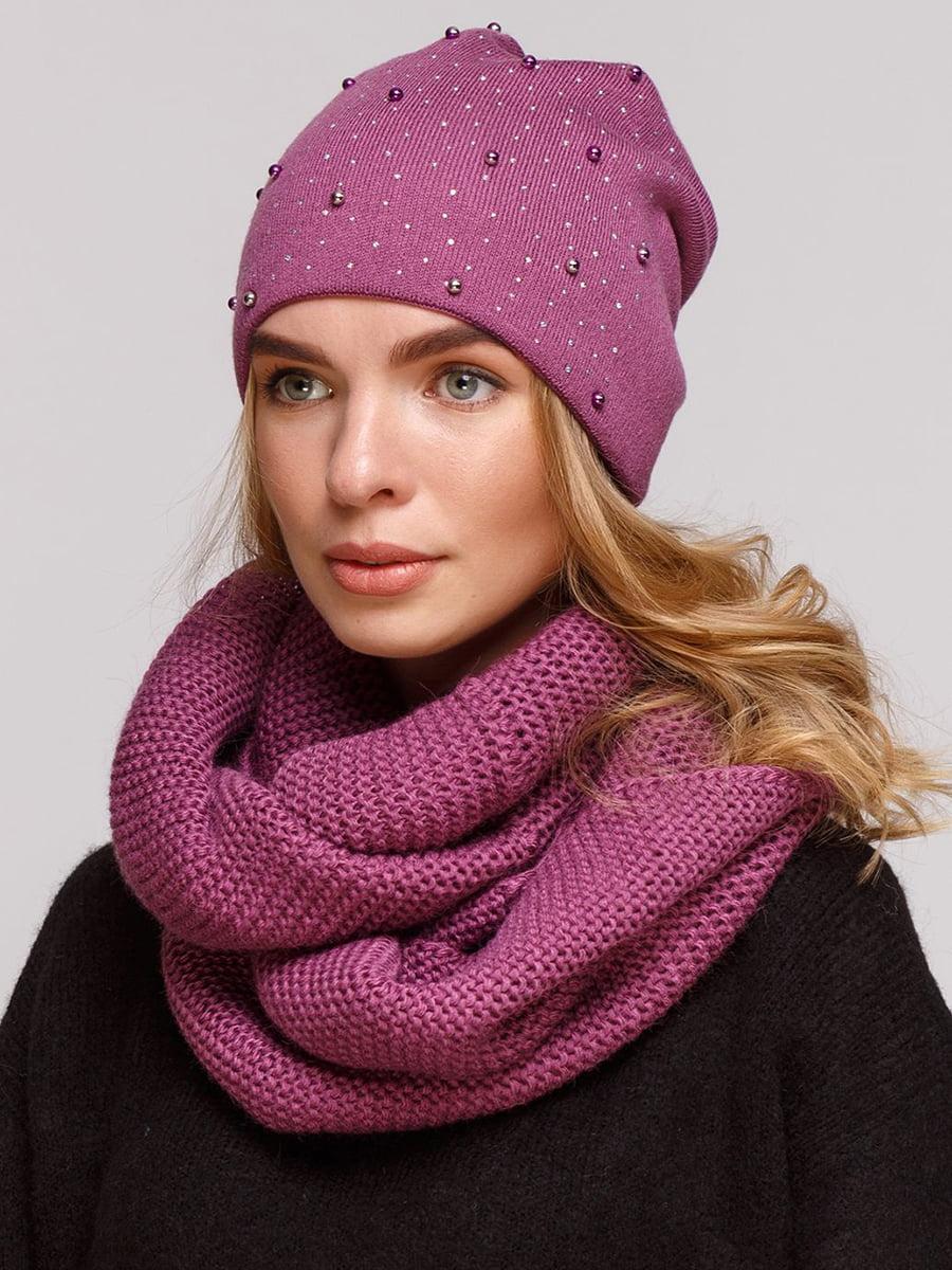 Комплект: шапка і шарф-снуд | 5640426