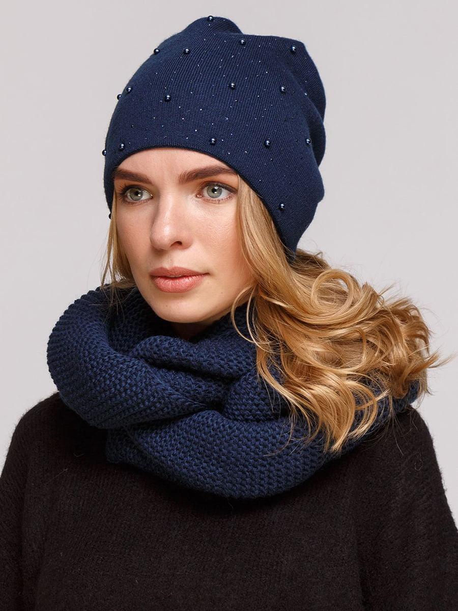 Комплект: шапка і шарф-снуд | 5640431