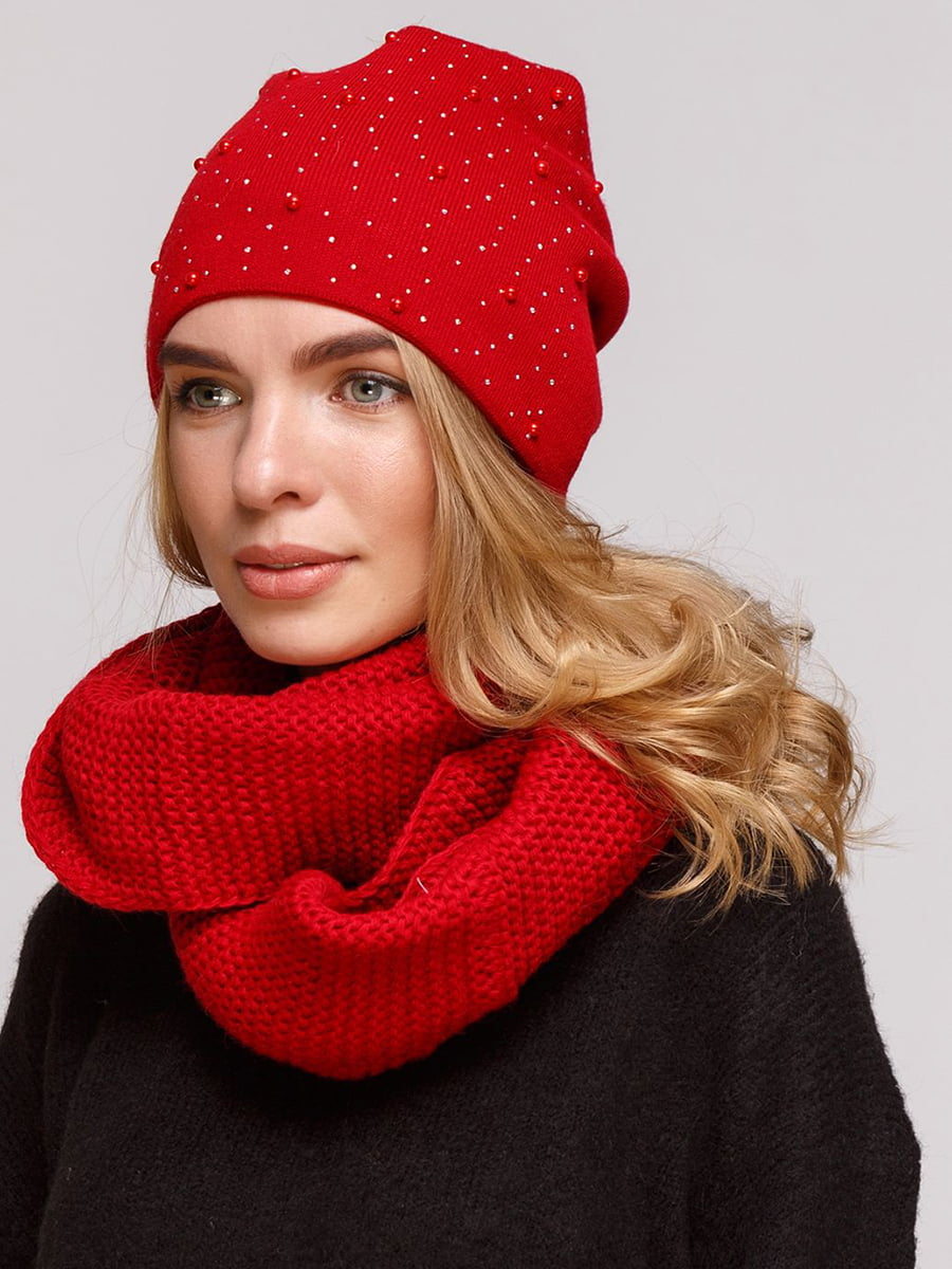 Комплект: шапка і шарф-снуд | 5640433