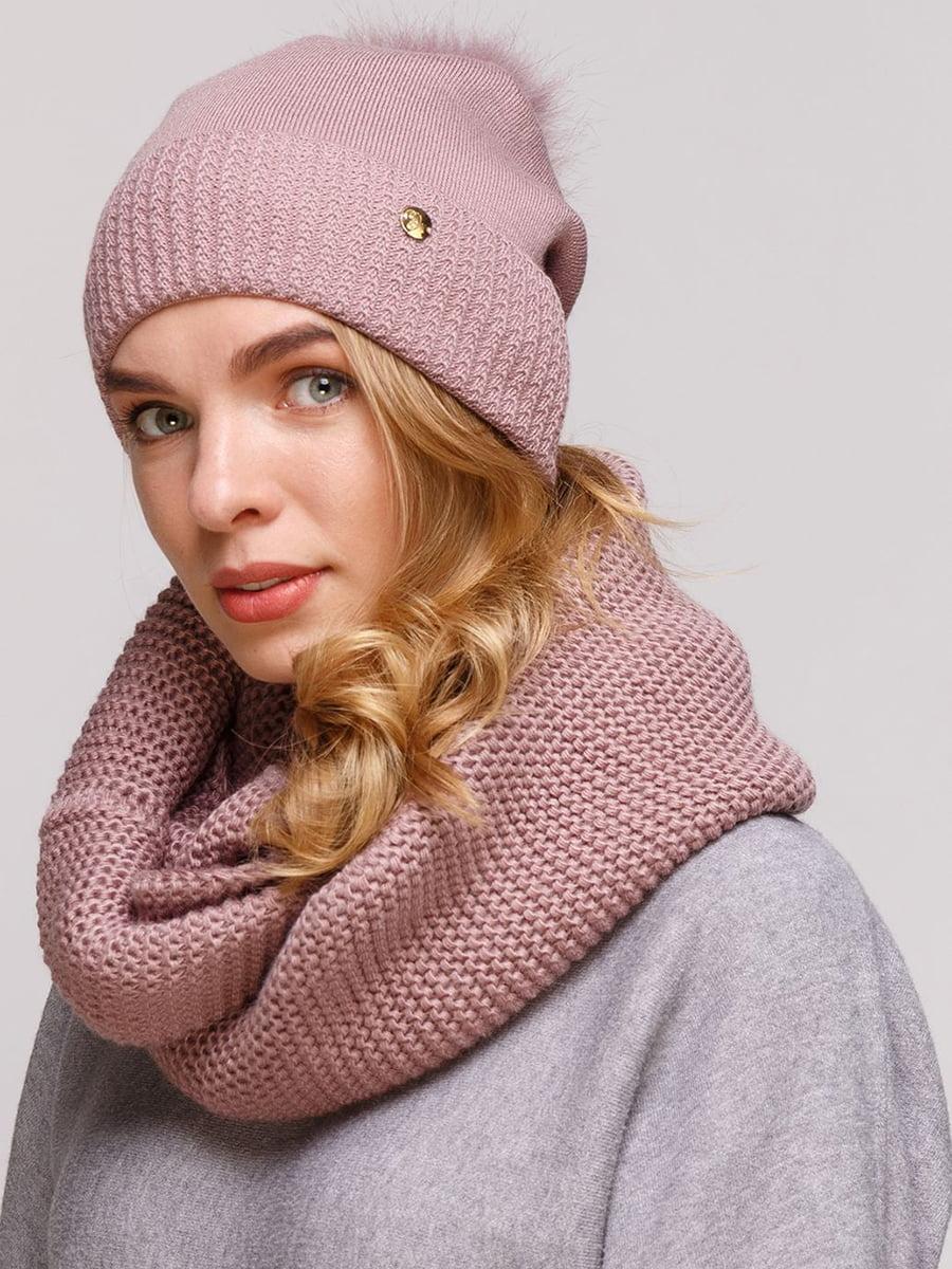 Комплект: шапка и шарф-снуд | 5640438