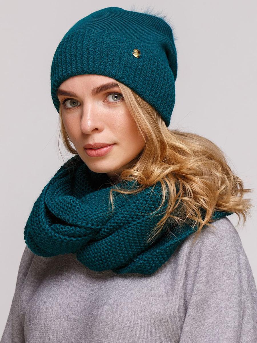Комплект: шапка и шарф-снуд | 5640439