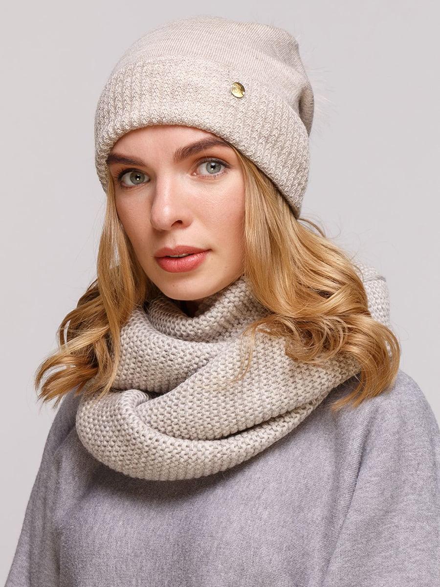 Комплект: шапка и шарф-снуд | 5640440