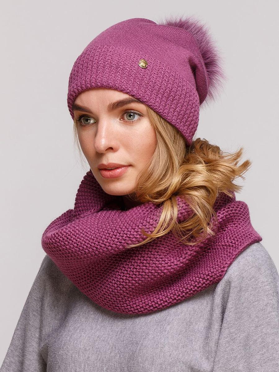 Комплект: шапка і шарф-снуд | 5640443