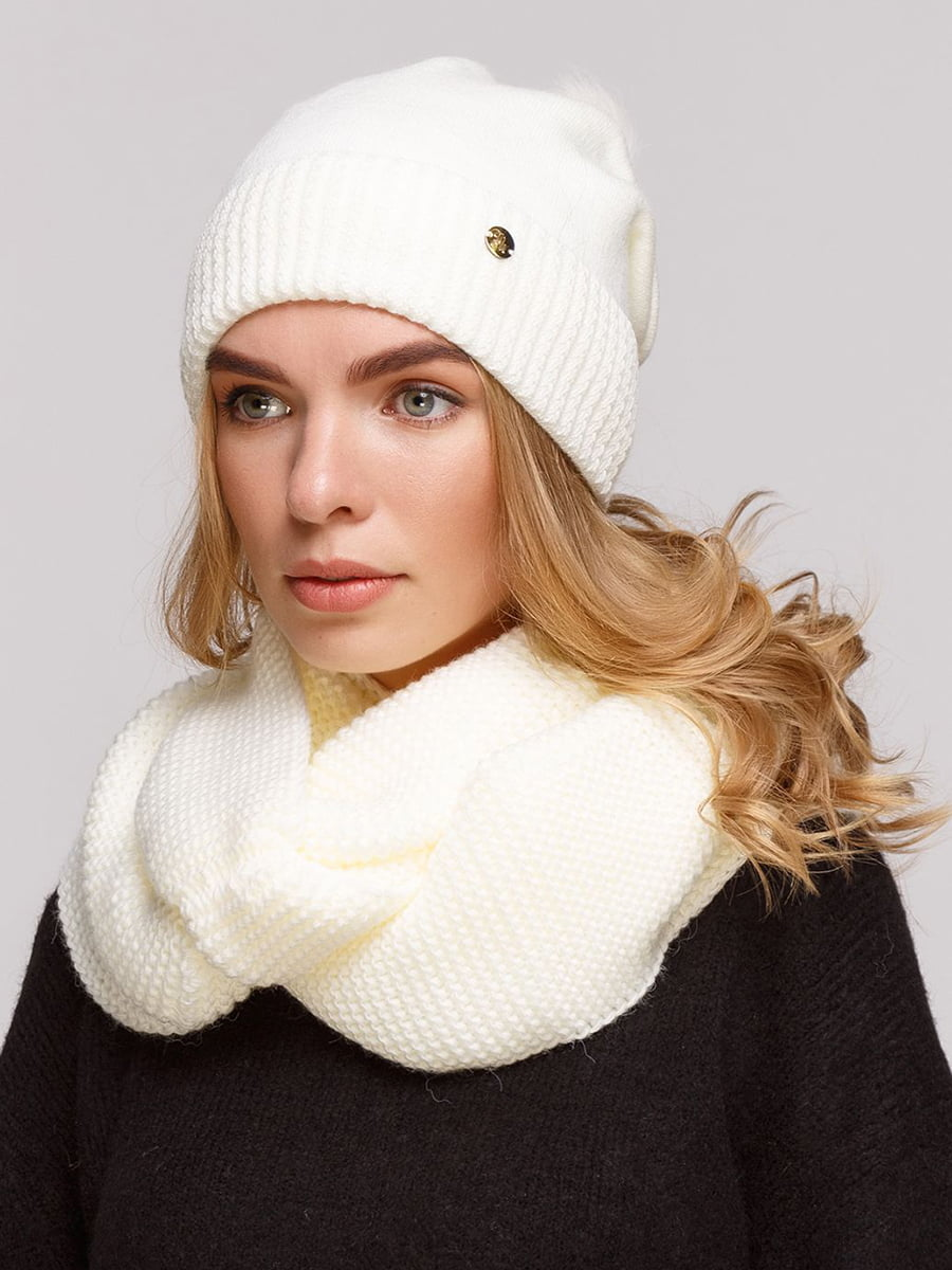 Комплект: шапка і шарф-снуд | 5640444