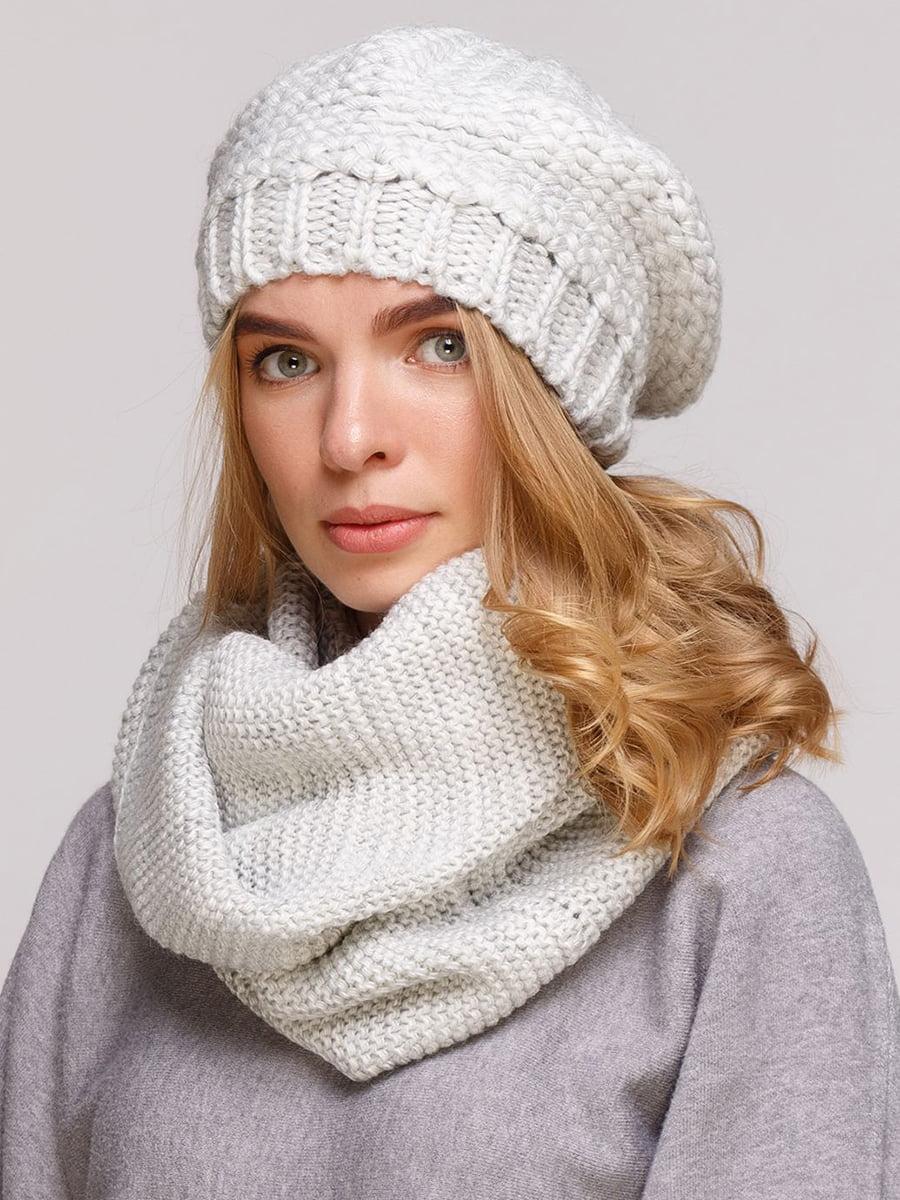 Комплект: берет и шарф-снуд | 5640448