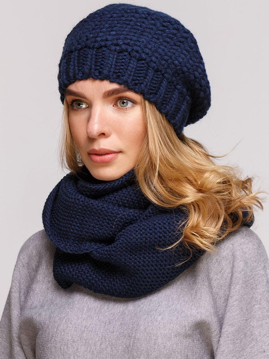 Комплект: берет і шарф-снуд | 5640449