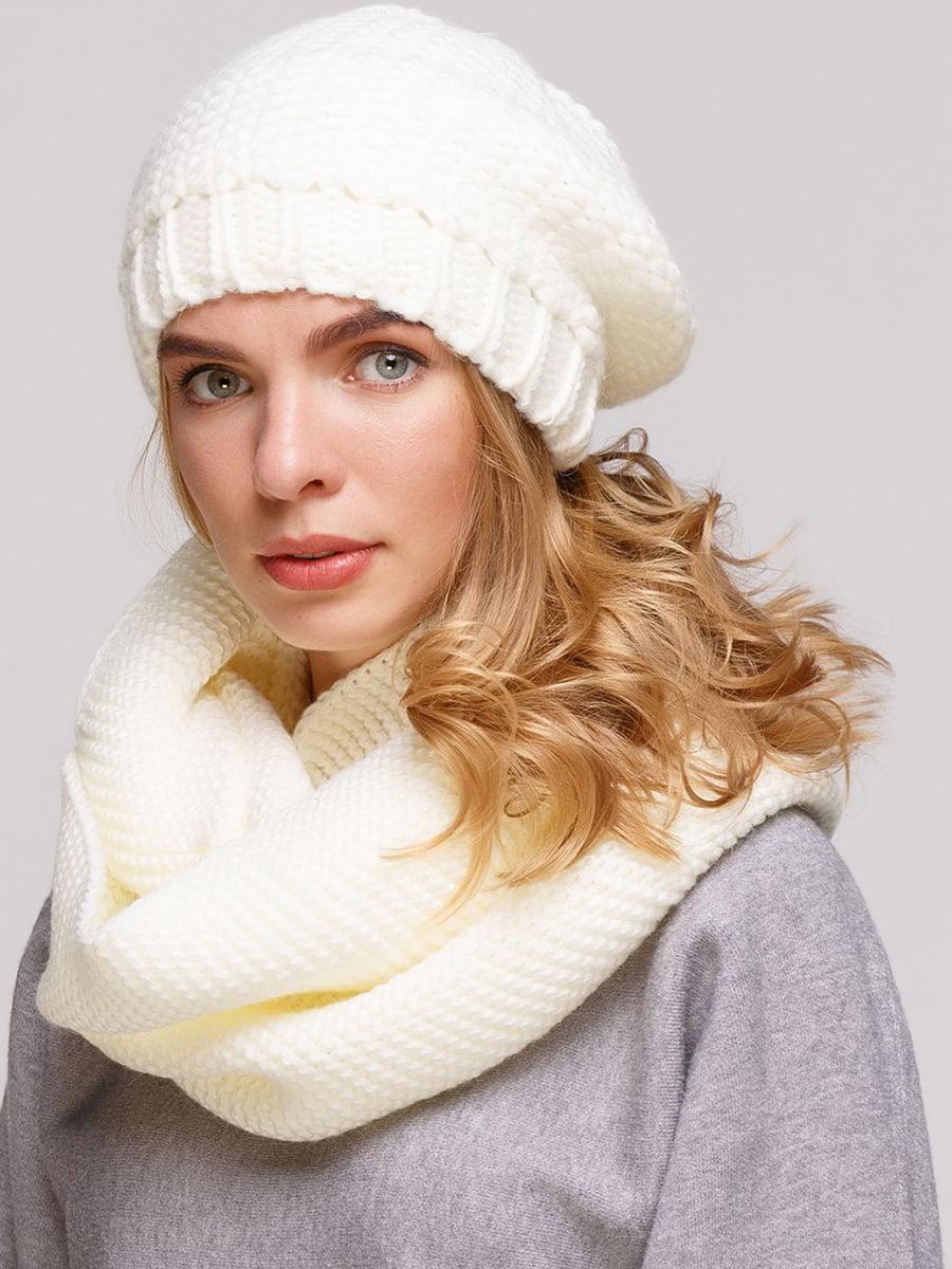 Комплект: берет і шарф-снуд | 5640450