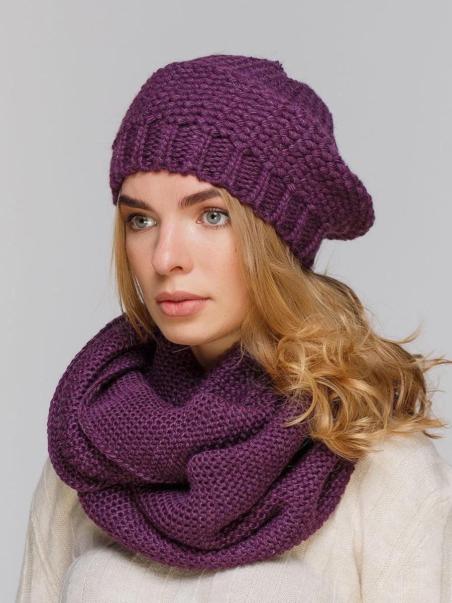 Комплект: берет і шарф-снуд   5640454