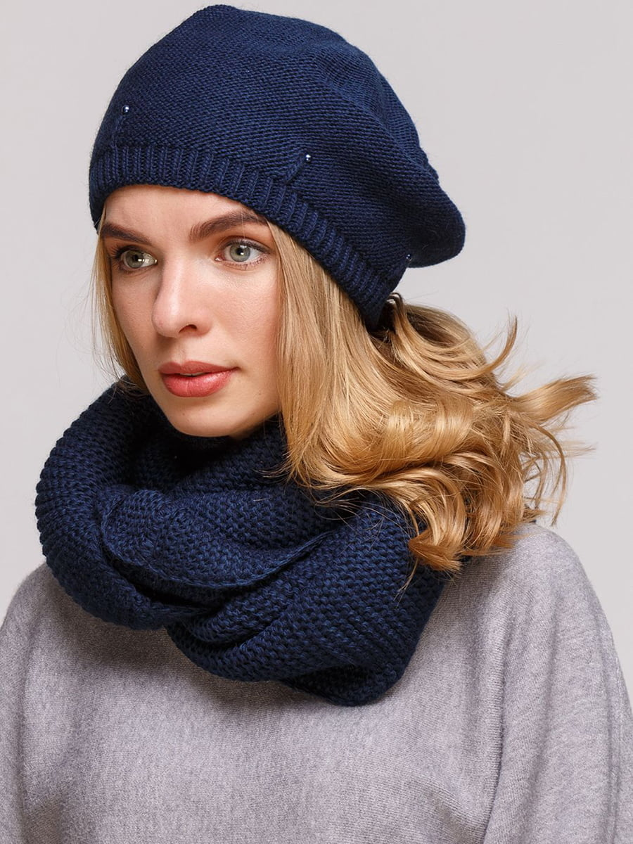 Комплект: берет и шарф-снуд | 5640455