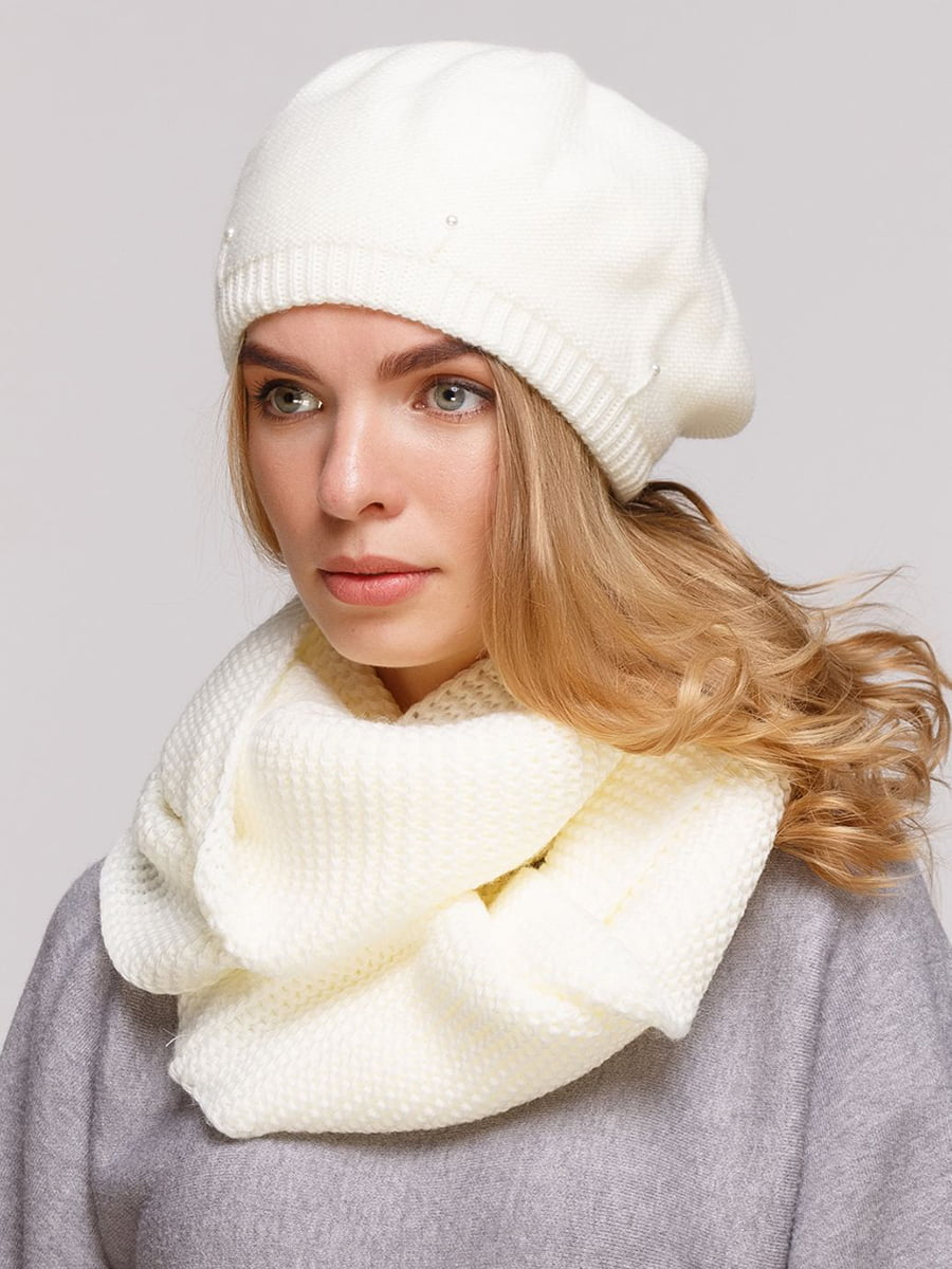 Комплект: берет і шарф-снуд | 5640460