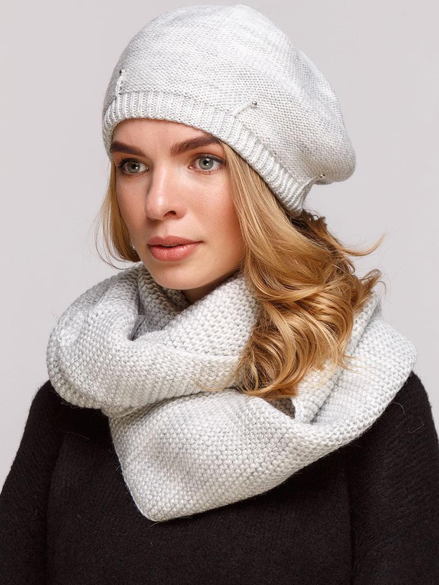 Комплект: берет і шарф-снуд | 5640461