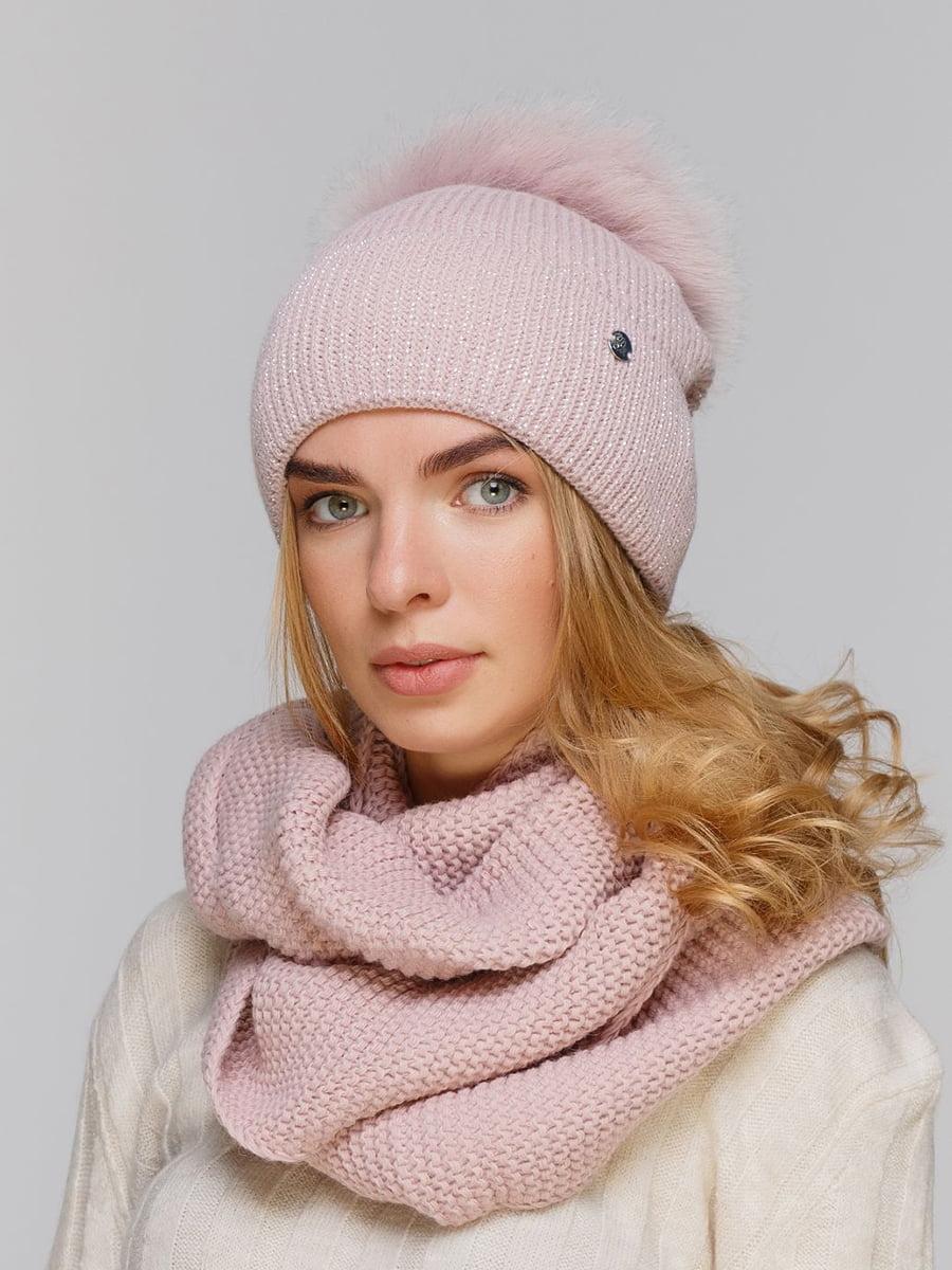 Комплект: шапка и шарф-снуд | 5640466