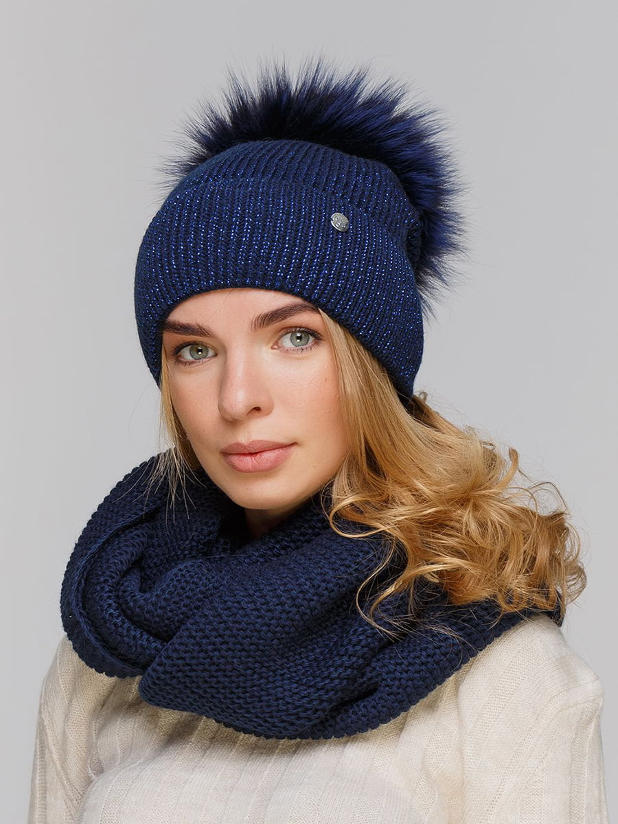 Комплект: шапка і шарф-снуд | 5640469