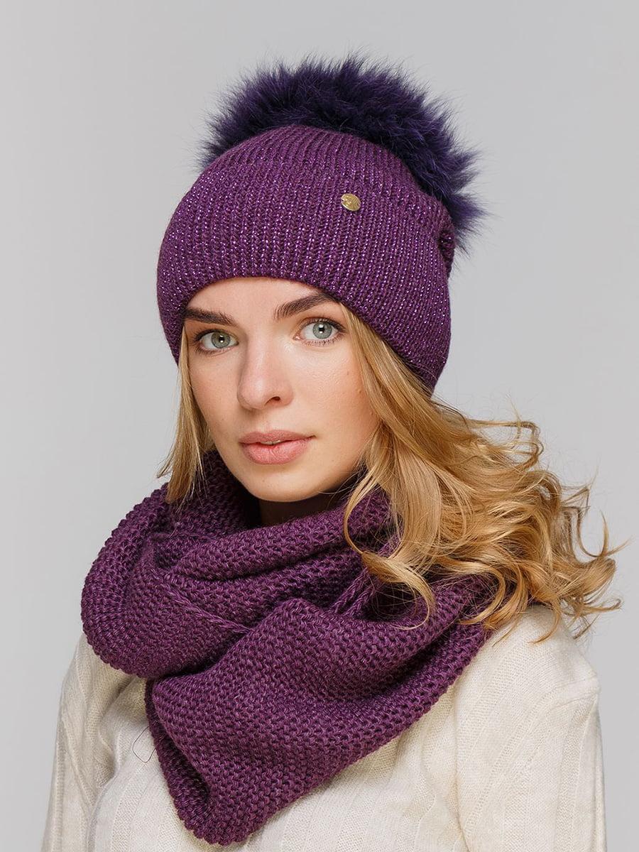 Комплект: шапка і шарф-снуд | 5640473