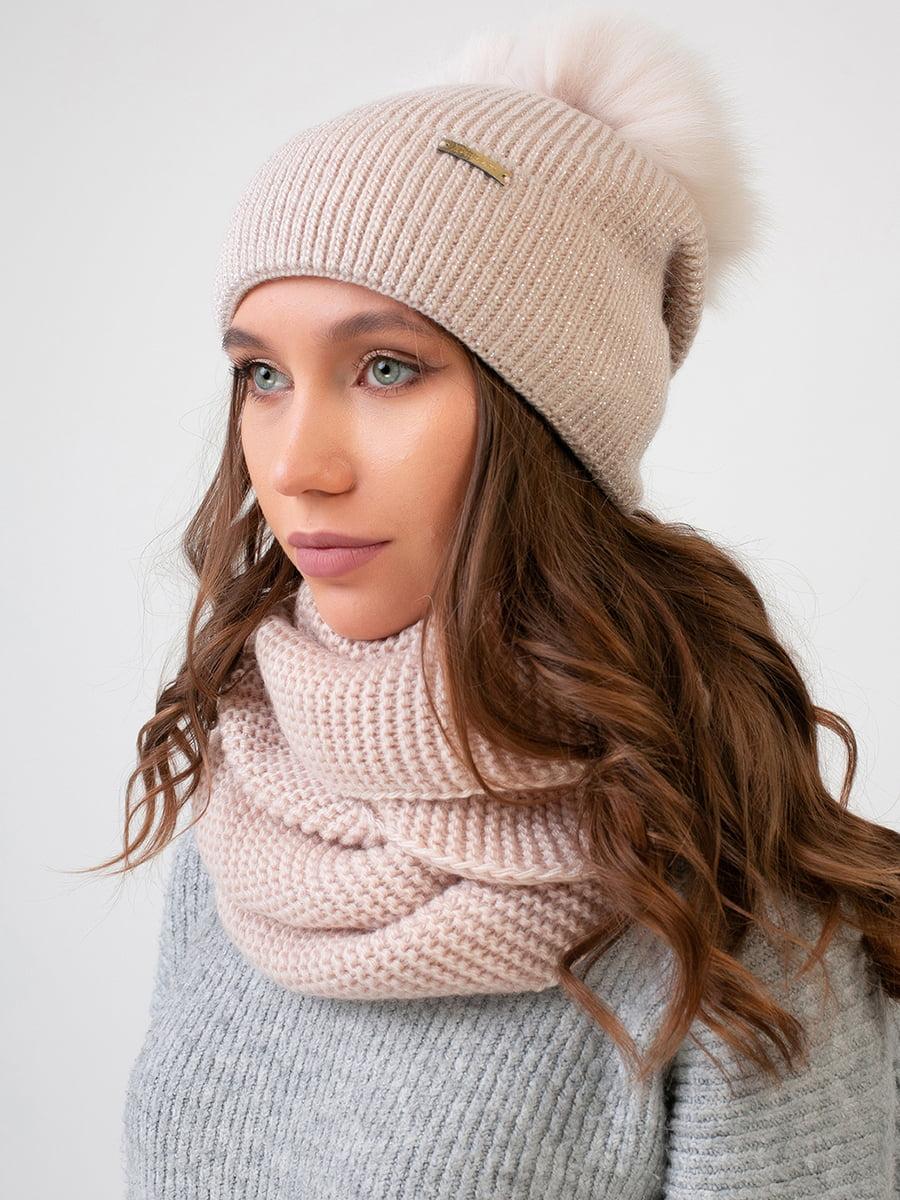 Комплект: шапка и шарф-снуд | 5640477