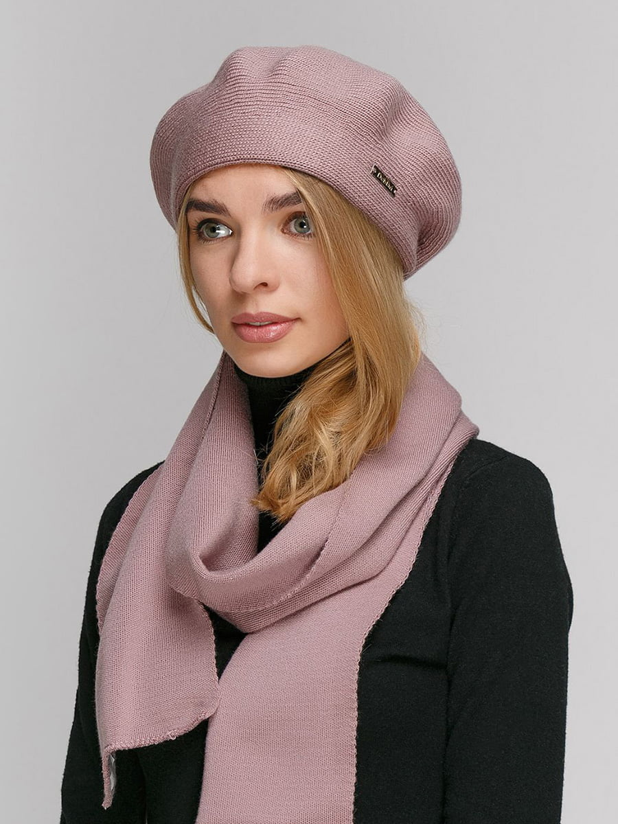 Комплект: берет і шарф-снуд   5640485