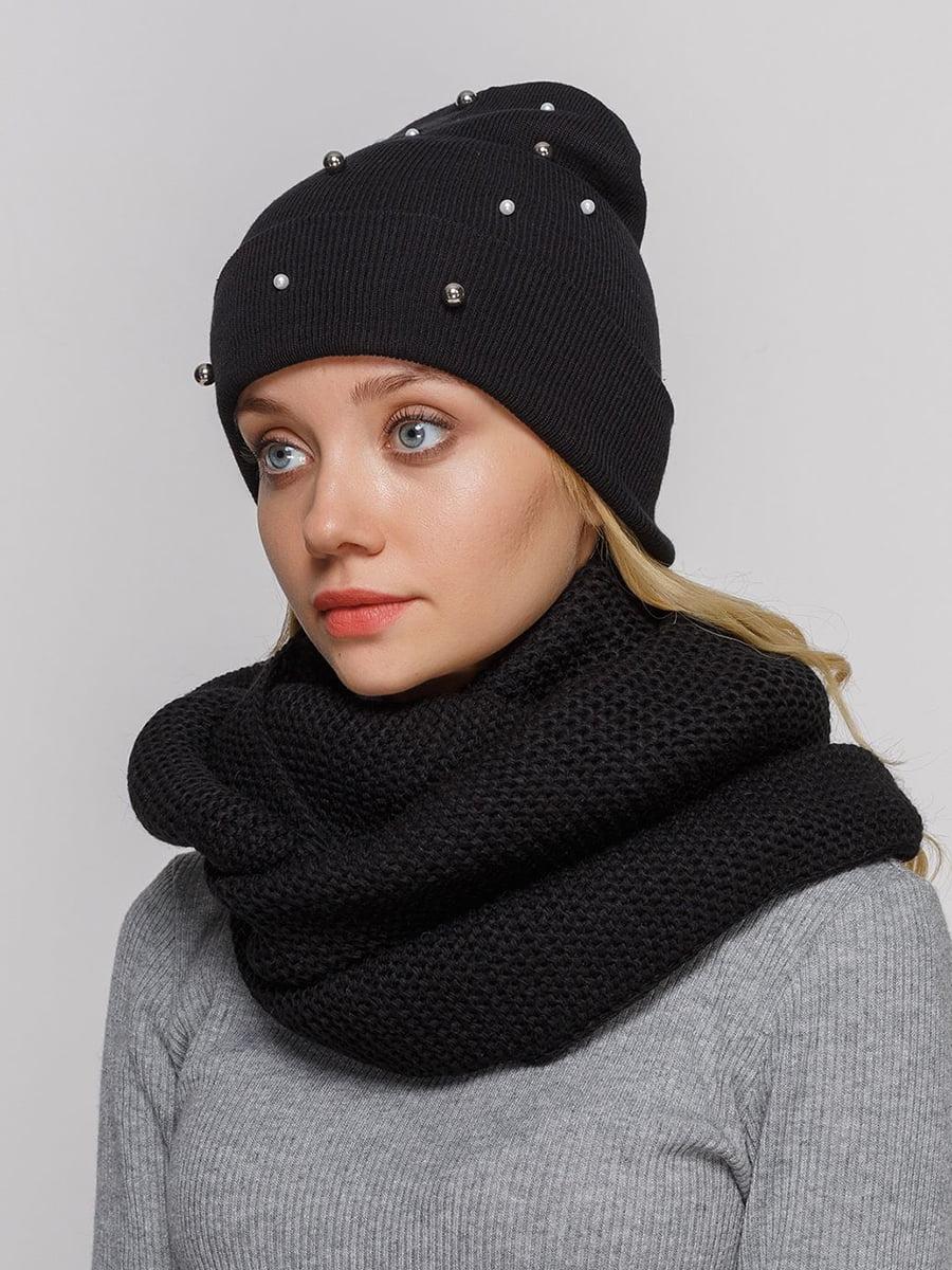 Комплект: шапка і шарф-снуд | 5640489