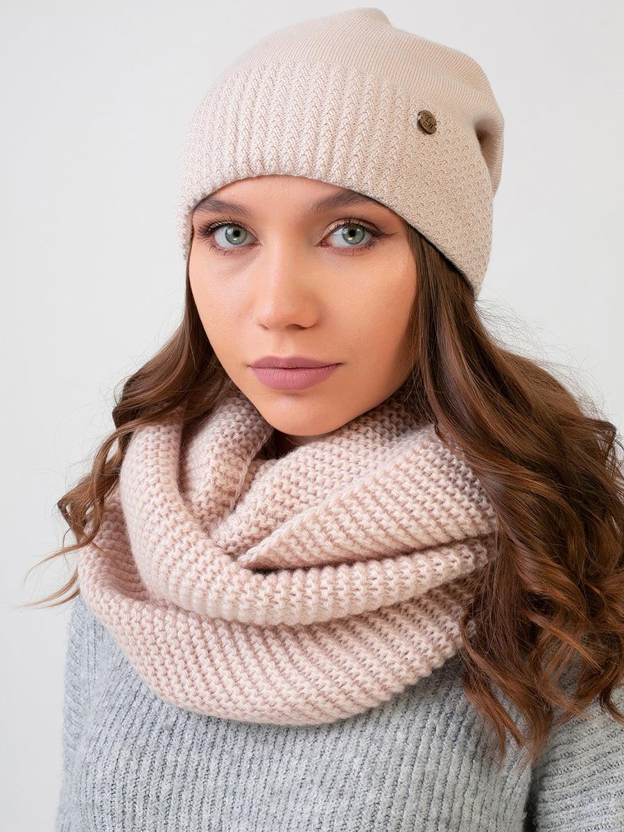 Комплект: шапка и шарф-снуд | 5640492