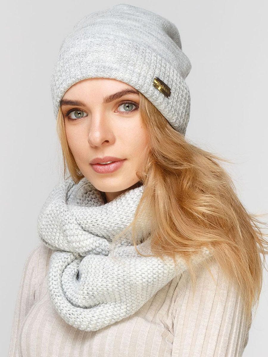 Комплект: шапка и шарф-снуд | 5640496