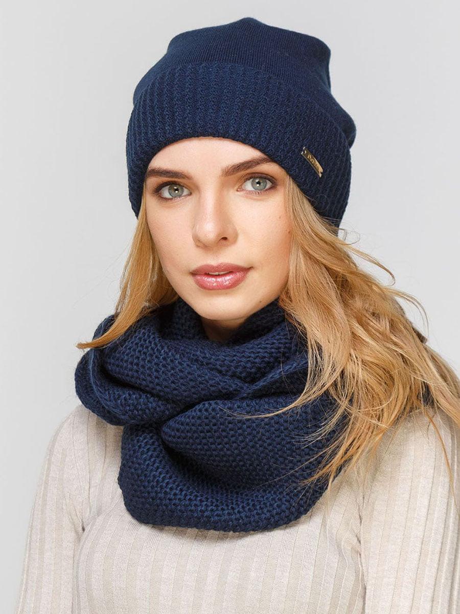 Комплект: шапка і шарф-снуд | 5640497