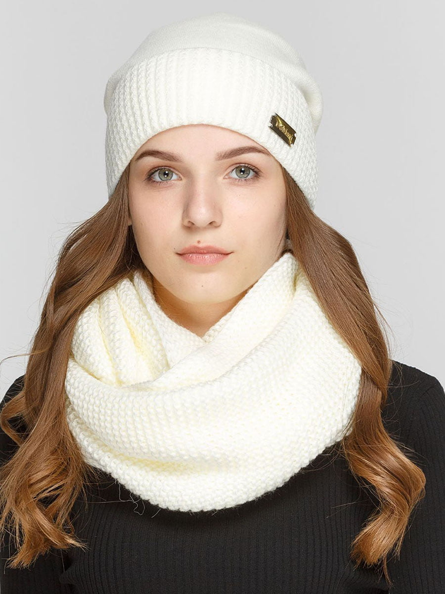 Комплект: шапка і шарф-снуд | 5640499