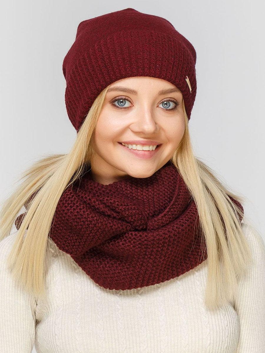 Комплект: шапка і шарф-снуд | 5640500