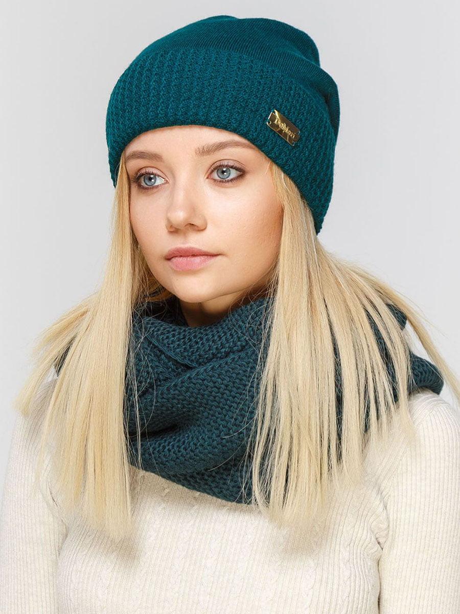 Комплект: шапка и шарф-снуд | 5640501