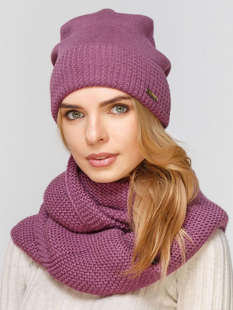 Комплект: шапка и шарф-снуд | 5640502
