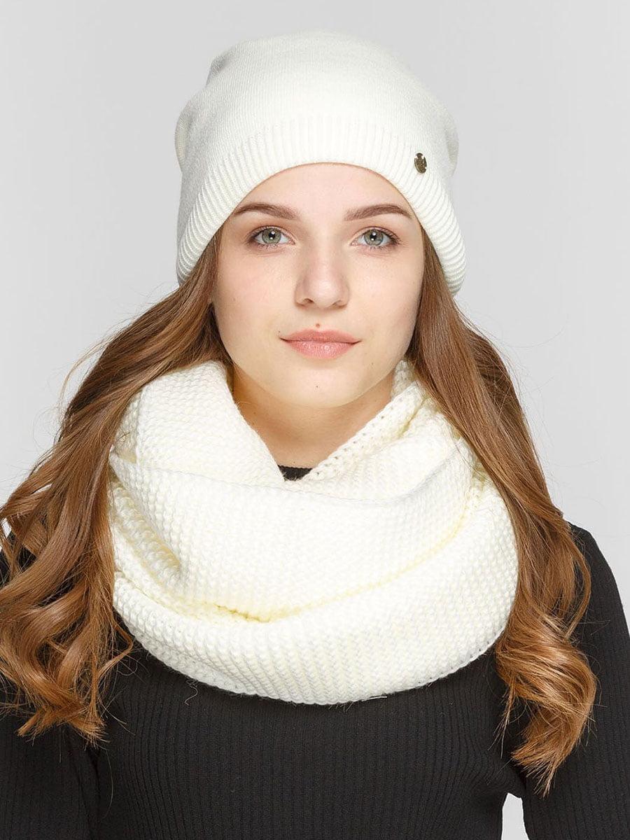 Комплект: шапка и шарф-снуд | 5640513