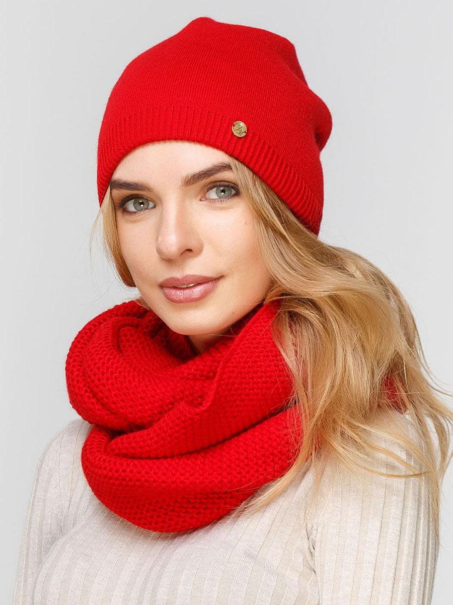 Комплект: шапка и шарф-снуд | 5640515