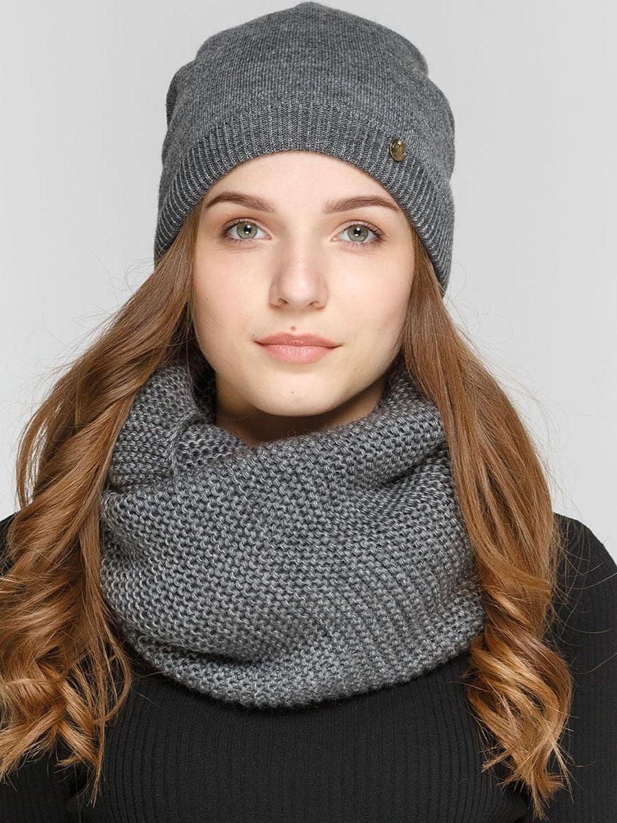 Комплект: шапка и шарф-снуд   5640517