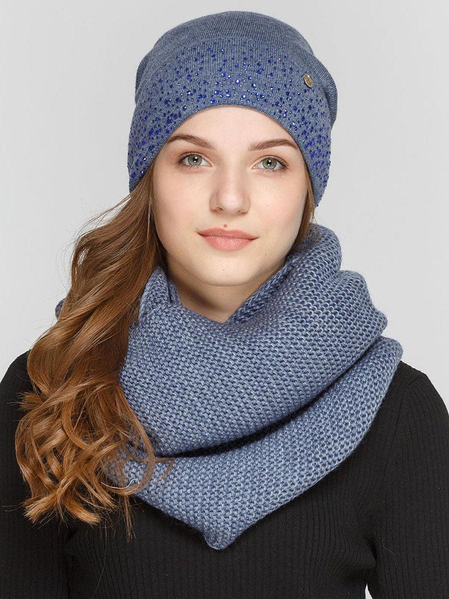 Комплект: шапка и шарф-снуд   5640520