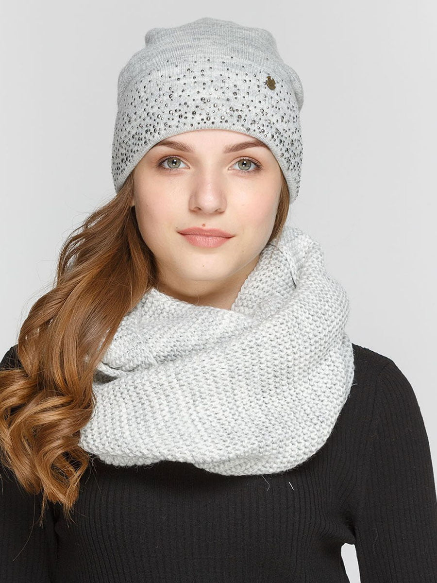 Комплект: шапка і шарф-снуд   5640522