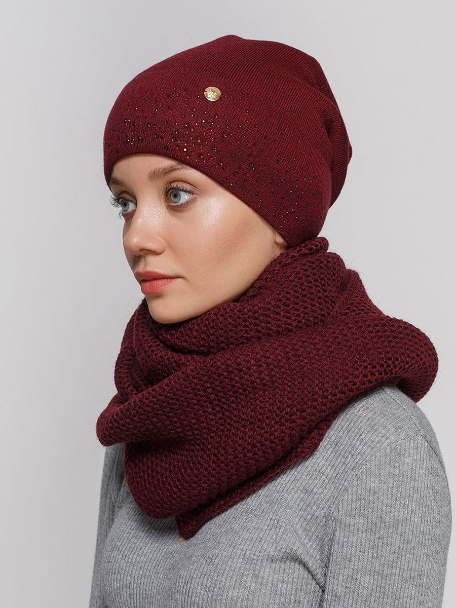 Комплект: шапка і шарф-снуд | 5640523