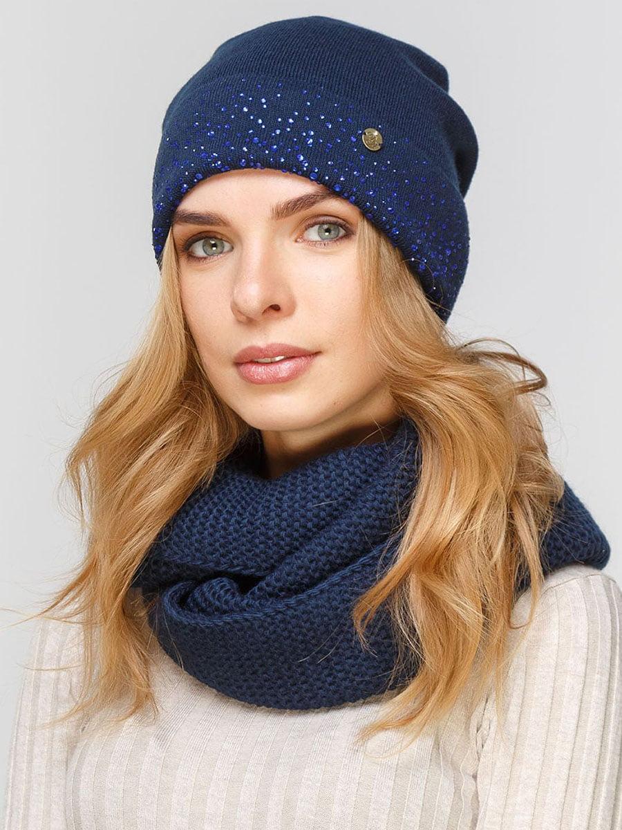 Комплект: шапка і шарф-снуд   5640524