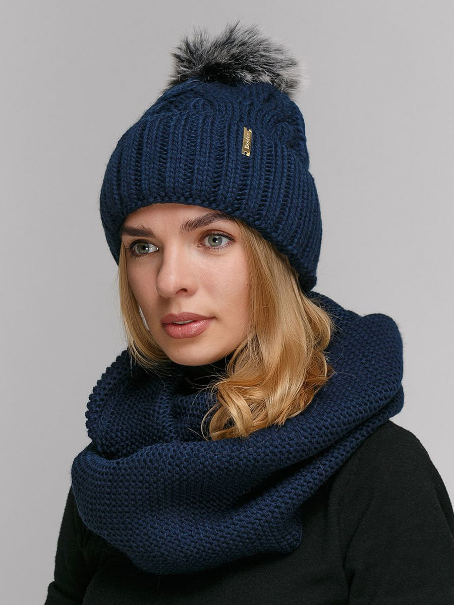 Комплект: шапка і шарф-снуд   5640538